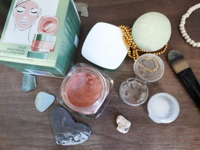 All about that glow, about that glow, L'oreal Pure Clay Glow mask review