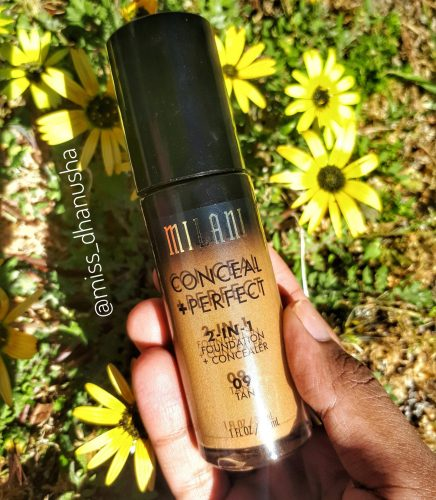 Milani Conceal + Perfect 2-in-1 Foundation + Concealer Review