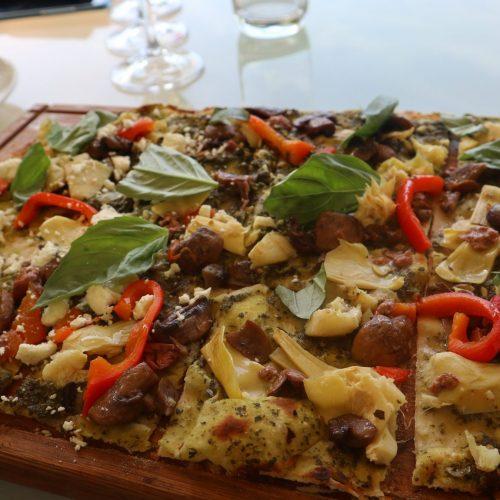 Constantia Glen's Vegan Flammkuchen