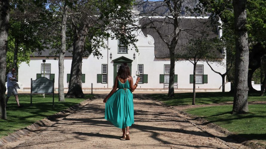 A walk back in time at Groot Constantia